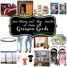 Save Money and Shop Smarter at Home with Groupon Goods…