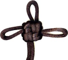 Lucky Knot - A St. Brigid's Cross Brigid's Cross, When You Believe, Diy Jewelry, Jewellery, Good Luck, Lucky Charm, Knots, Chinese Knotting, Indiana