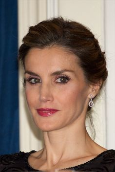"""King Felipe and Queen Letizia of Spain attended the """"Francisco Cerecedo"""" journalism award 2014 ceremony at the Ritz Hotel on November 5, 2014 in Madrid, Spain."""
