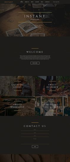 Art & Photography website inspirations at your coffee break? Browse for more Photo Gallery 4.0 #templates! // Regular price: $199 // Sources available:<b>Sources Not Included</b> #Art & Photography #Photo Gallery 4.0