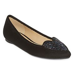 e8284e886ac First Love Pointed-Toe Slip On Flats - JCPenney