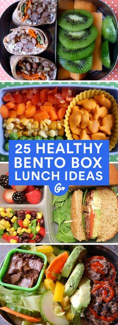 Jazz up your midday routine with these perfectly portioned meals. #healthy #bentobox #lunch http://greatist.com/health/healthy-bento-box-ideas