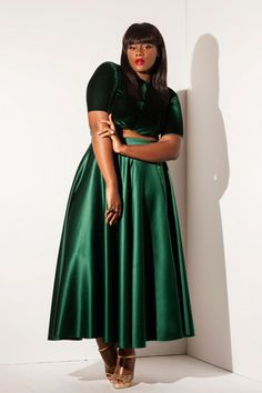 Why this designer only uses plus-size models