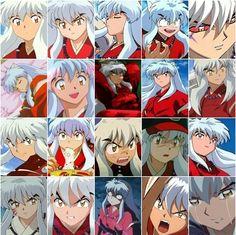 The many faces of Inuyasha