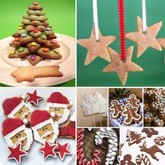 Especial galletas de Navidad Xmas, Christmas Ornaments, Christmas Cakes, Cookie Decorating, Gingerbread Cookies, Cupcakes, Holiday Decor, Desserts, Decorated Cookies