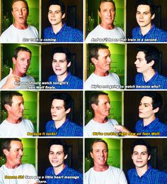 #TeenWolf Dylan O´Brien and Linden Ashby