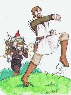 Star Wars, Monty Python style