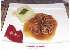 Receta de Calamares en salsa por Rafael Osuna - Cocinario