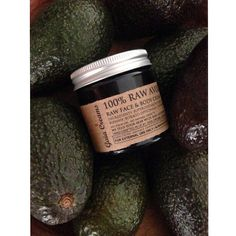 100% RAW AVOCADO SKIN THERAPY 60ml by Gaia Creams // 100% Skinfood // 100% Organic Vegan and Ethical Skincare // Always Freshly Crafted to Order #nopalmoil #toxinfree #nonsensefree