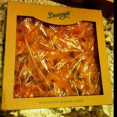 Mmmm Dewey's Moravian Sugar Bread - a Winston-Salem tradition