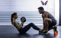 How to find a personal trainer | Well+Good 6 questions to ask before you hire a personal trainer<br> The fitness pros from Find Your Trainer share the top things to think about before joining forces with a coach. Fitness Workouts, Sport Fitness, Fun Workouts, Fitness Diet, Free Fitness, Group Fitness, Fitness Gear, Health Fitness, Hiit