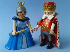 PLAYMOBIL, figure 2, KING and QUEEN, NEW blister Ref.6378