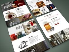 Websites done for czech minibrewery located in Prague