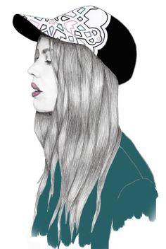 Pencil / Watercolour / Editing