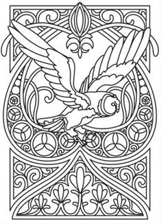 Owl Nouveau_image