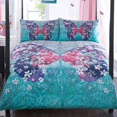Matthew Williamson's Butterfly Home Multicoloured 'Wings' bedding set - Debenhams.com