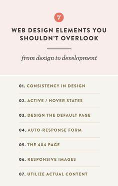 7 Web Design Elements You Shouldn't Overlook — Spruce Rd. - - 7 Web Design Elements You Shouldn't Overlook — Spruce Rd. Web Design Trends, Design Websites, Web Design Blog, Web Design Quotes, Website Design Services, Graphic Design Tips, Web Design Company, Learn Web Design, Website Layout