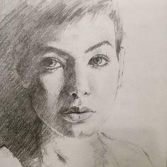 #Sketch #drawing #연필드로잉 #초상화 #드로잉 #스케치 #portrait #pencil #그림 #미술 #art #인물 #works