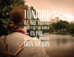 """Fun. """"We are Young"""""""