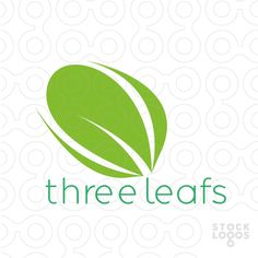 Three Leafs - Modern, Unique and Different. - It is perfect for businesses or services: Natural products, green, organic, services and companies working with renovation or nature in general.[$230]