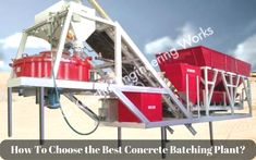 We have mentioned the things that one should keep in mind while selecting a Concrete Batching Plant for your construction venture. This guideline will come in handy when you are in the market to make a buy.