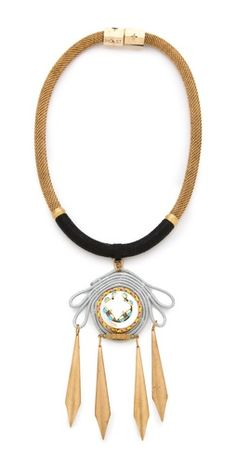 Holst + Lee Bird of Paradise Necklace