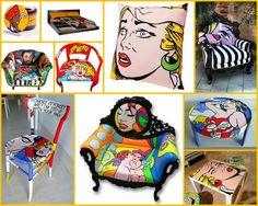Pop Art Mobilyalar