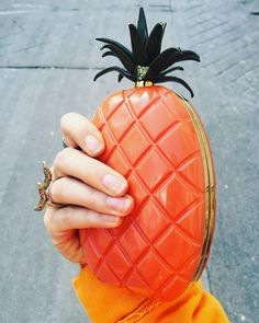 Sometimes all you need is an orange pineappleimage via @veronikaheilbrunner the #HawaiianCouture collection is available to shop right here. Click on link in bio for the Valentino #instashop