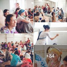 """How to become a good Vaishnavi wife"" course in Kiev (Album with photos) Srila Prabhupada: We must rise early in the morning, bathe, attend mangala-arati, worship the Deities, chant the…"