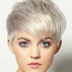 #pixie #haircut #short #shorthair #h #s #p #shorthaircut #blondehair #b #hair #blondeshavemorefun #platinumhair #blonde #haircuts