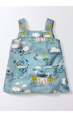 Free shipping and returns on Mini Boden Retro Pinnie Dress (Baby Girls & Toddler Girls) at Nordstrom.com. A delightful print and front patch pockets extend the carefree charm of a play-ready dress that's perfect for layering.