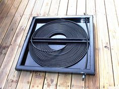 "This person does not recommend the coiled tubing solar heaters: ""The vinyl tubing does not stand up to UV radiation and I was constantly fixing leaks. The system was hard to make leak proof so when the pump shut off the water would drain back into the pool allowing air into the coils which would then need to be re-purged by extra work for the pool pump. All this extra load was killing my pool pumps"""