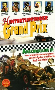 """Flåklypa Grand Prix"" Reodor Felgen decides that he will enter a car race to defeat his former friend who has stolen his plans for a car. Directed by Ivo Caprino. With Wenche Foss, Per Theodor Haugen, Harald Heide-Steen Jr. Family Movies, Top Movies, Comedy Movies, Movie List, I Movie, Grand Prix, Cartoon List, Cartoon Online, Watch Cartoons"
