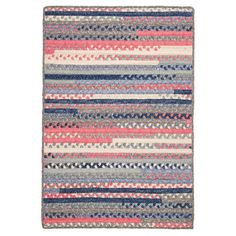 Colonial Mills Print Party Rectangle Indoor Area Rug Crushed Coral - PY79R072X072B, CMI2291-65