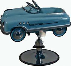 Lot 1050 Mercury Super Sport Pedal Car  Child's Barber Chair