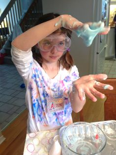 Science party slime