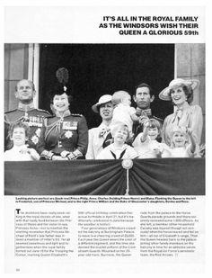 Trooping Of Colour , le 15 Juin 1985 _ Suite