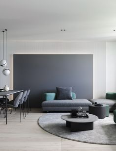 Here are list of the awesome minimalist apartment designs ever presented on sweet house. Find inspiration for Minimalist Apartment Design to add to your own home. Minimalist Apartment, Minimalist Interior, Minimalist Living, Modern Minimalist, Living Room Interior, Interior Design Living Room, Living Room Designs, Living Room Decor, Living Room Green