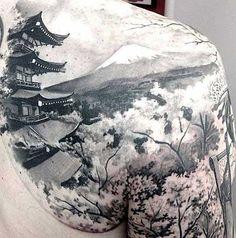 Fotos de Tatuagens Orientais Masculinas e Femininas