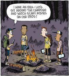 Ooooo, the ultimate cheat, or the ultimate way to tell a scary campfire story?  Thoughts?