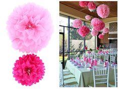 Amazon.com: Ohuhu Crafts Pom Poms, Pink, 2 Sizes: Arts, Crafts & Sewing