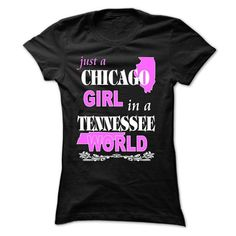 Chicago Girl in a TENNESSEE World #cool sweater #sweater pillow. PRICE CUT => https://www.sunfrog.com/States/Chicago-Girl-in-a-TENNESSEE-Wo-Black-Ladies.html?60505