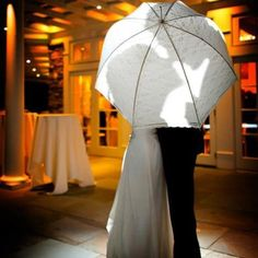 Parasols make a worthwhile investment for stunning wedding day photos.