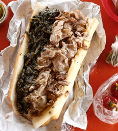 Roast Pork Sandwich From John's Roast Pork In South Philadelphia