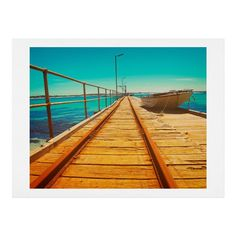 Happee Monkee The Jetty Art Print   DENY Designs Home Accessories