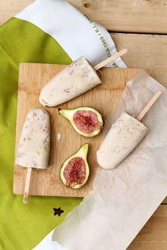 Coconut Fig Ice Pops