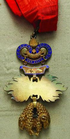 Austria, Golden Fleece Order, neck badge, 1920-30. Rev.