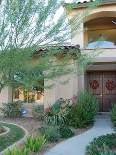 Southwest home - beautiful colors & landscaping