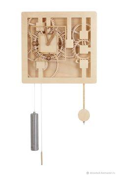 Часы механические настенные – купить в интернет-магазине на Ярмарке Мастеров с доставкой