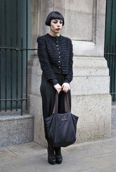 Laura Antonioni, London | Street Fashion | Street Peeper | Global Street Fashion and Street Style